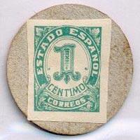 Ejemplo de 1 céntimo