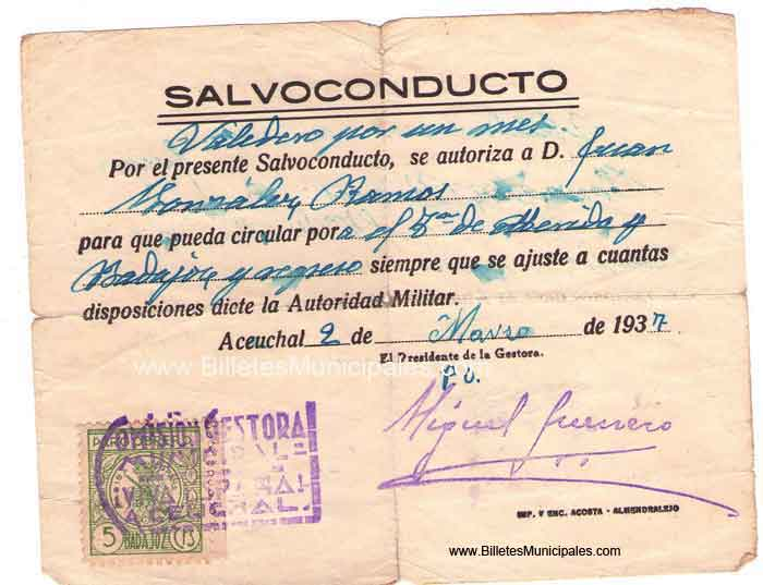 salvoconducto